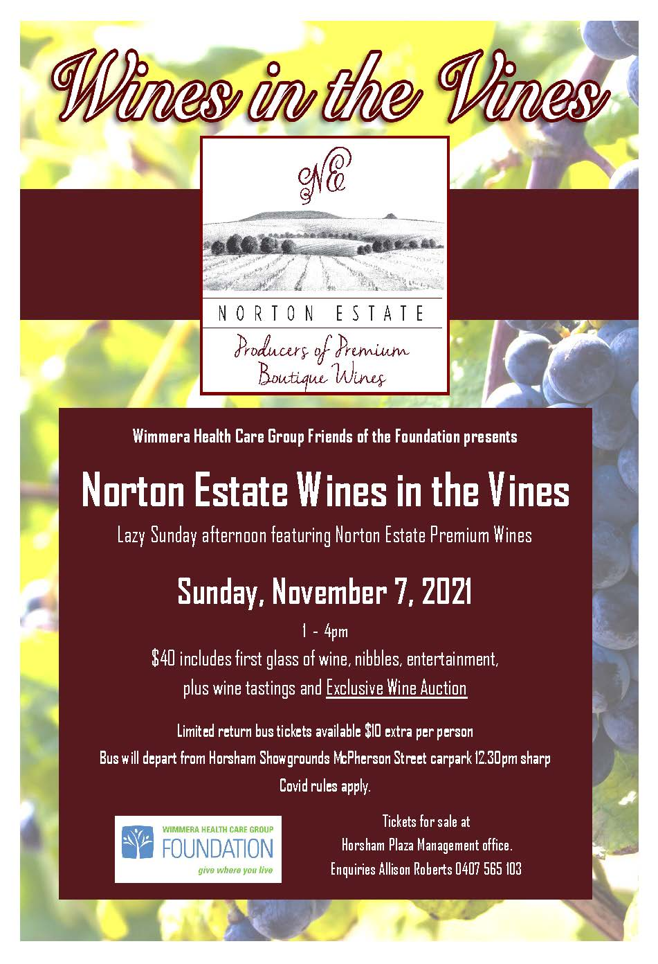 BOOK NOW: Norton Estate Wines in the Vines Featured Image